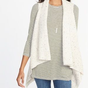 NWOT - cardigan sweater vest
